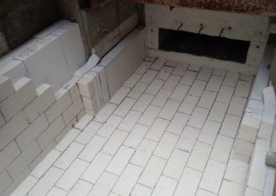 Alfa-heat | Generální opravy – vyzdívka průběžné pece