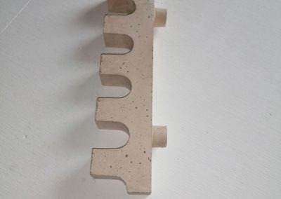 Alfa-heat | Feuerbetonstein zur Lagerung von Keramikrohren